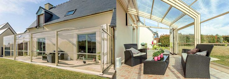 17 best ideas about abri de terrasse on pinterest cabane de jardin abri an - Abri de terrasse rideau ...