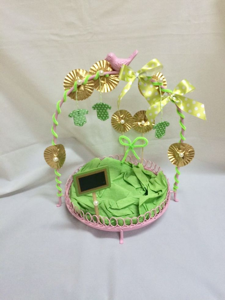Baby girl welcome gift platter The B Factory - 9502723718