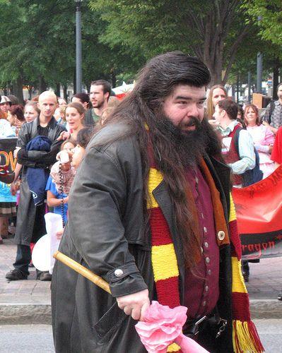 Hagrid Harry Potter Cosplay