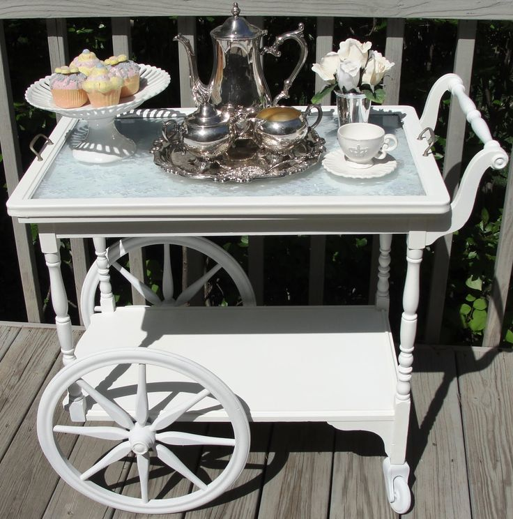 tea cart tea party