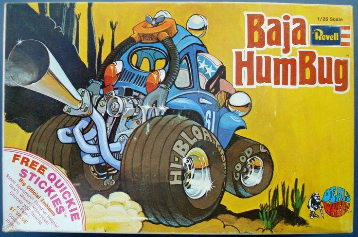 1971 Revell Deals Wheels Baja Humbug VW Model Kit 1 25 ...