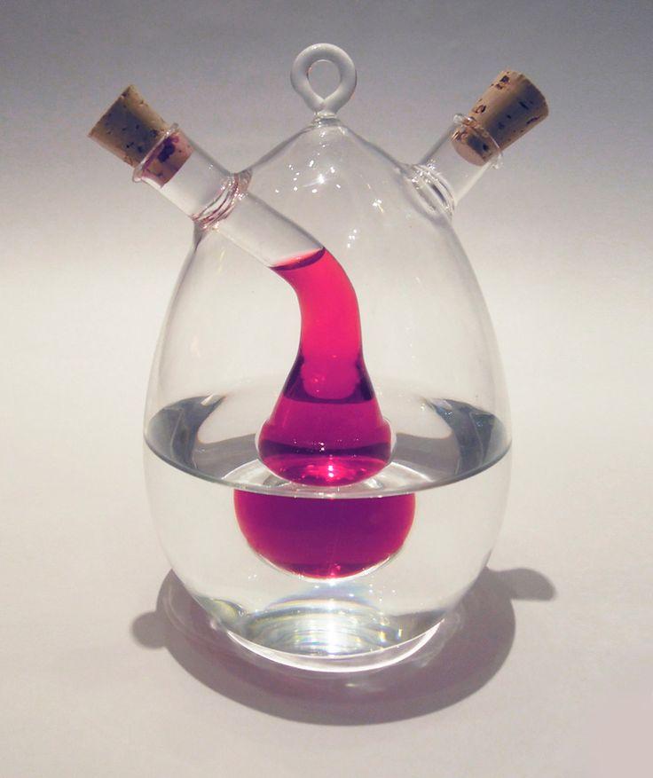 Regalos que encantan: .Vinagreta de vidrio con diseño en Dekosas.