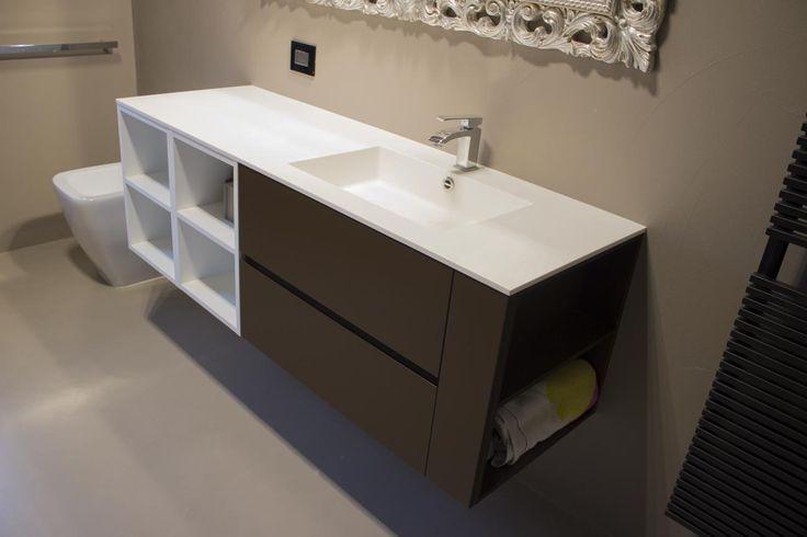 Oltre 10 fantastiche idee su bagno marrone su pinterest - Arredo bagno marrone ...