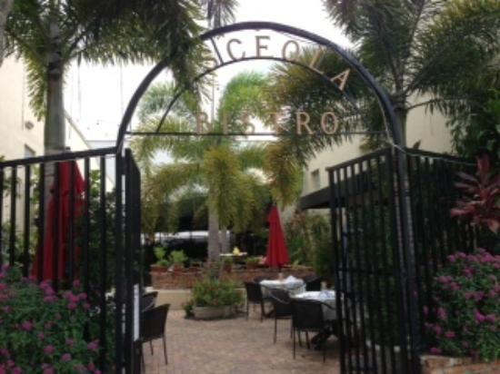 Patio Entrance At Osceola Bistro