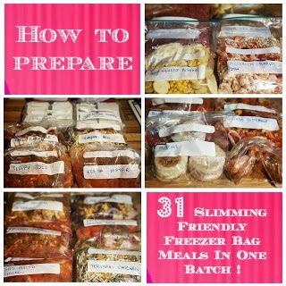 Sugar Pink Food: How to Prepare 31 Slimming World Friendly Freezer ...
