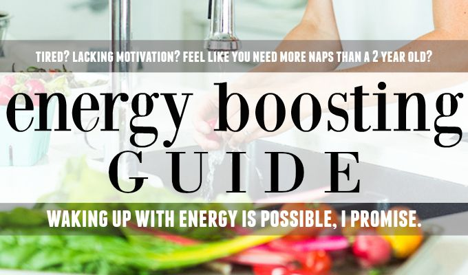 Nutritionist in the Kitch Energy Boosting Guide