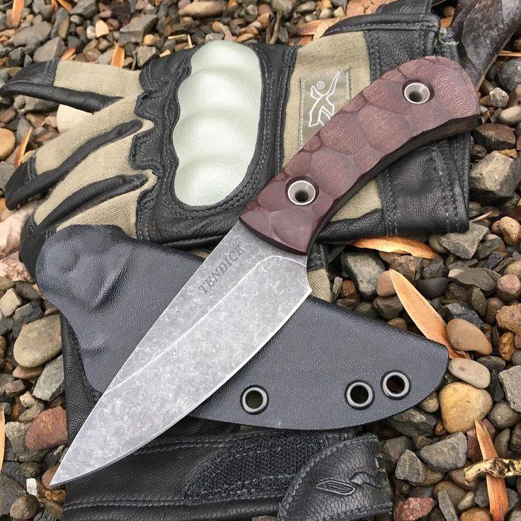 Ben Tendick knives