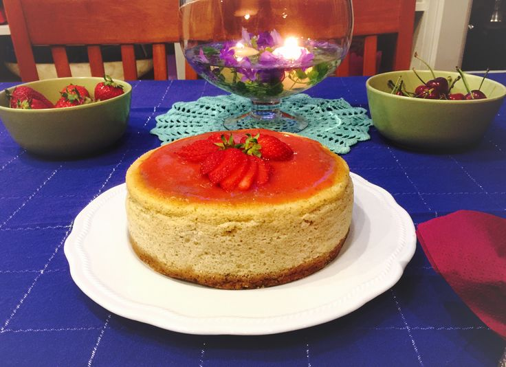Cheesecake alle fragole con cottura