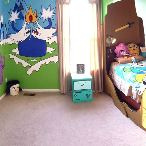 33 best images about adventure time room ideas on for Adventure bedroom ideas