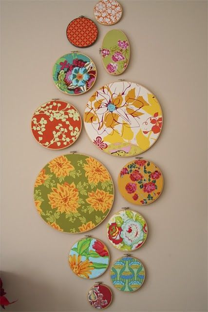 With the cute Melamine plates Target has this would be cheap and fun.  Plus, you leave it up for as long (or short) as you like without price tag guilt!
