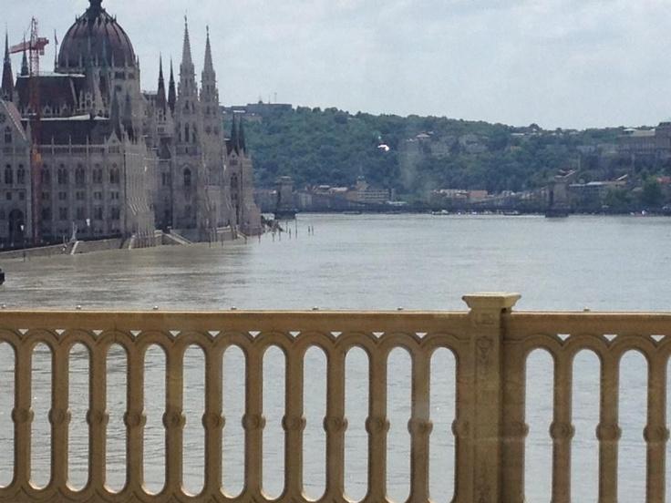 Hochwasser in Budapest (c) Marc Vecsey