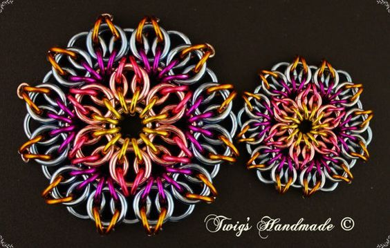 Celtic Mandala Tutorial por Twigshandmade en Etsy