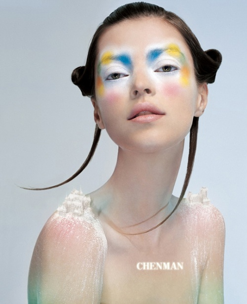 russian glamour chen man