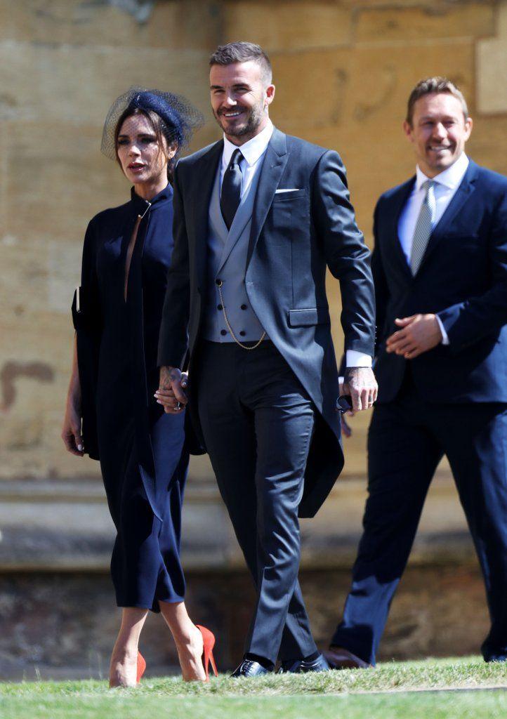 David Beckham At Royal Wedding 2018 Pictures