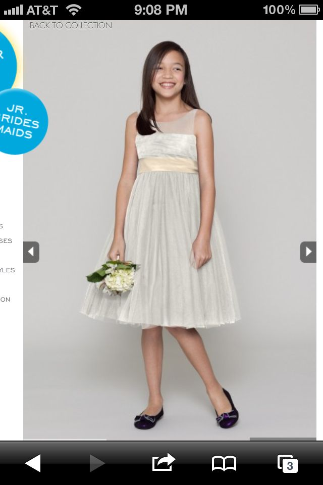 15 best junior brides/ flower girl dresses images on Pinterest ...