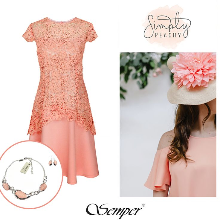 #fashion #peach #coral #summer #semper
