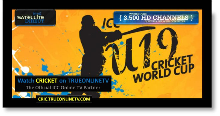 Watch ICC U19 Cricket World Cup in HD Right Now (& every other Sport) @ this link =>  http://cric.trueonlinetv.com   Also visit us on facebook @ https://www.facebook.com/trueonlinetv #cricket #cricinfo #icc #asiacup #virat #viratkholi