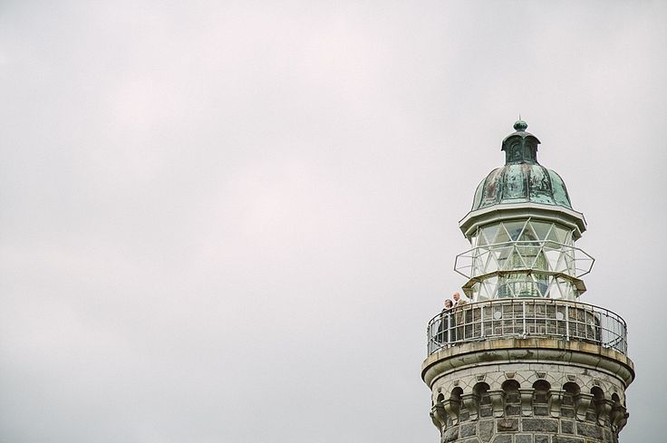 lighthouse wedding in denmark. photography by camilla jorvad