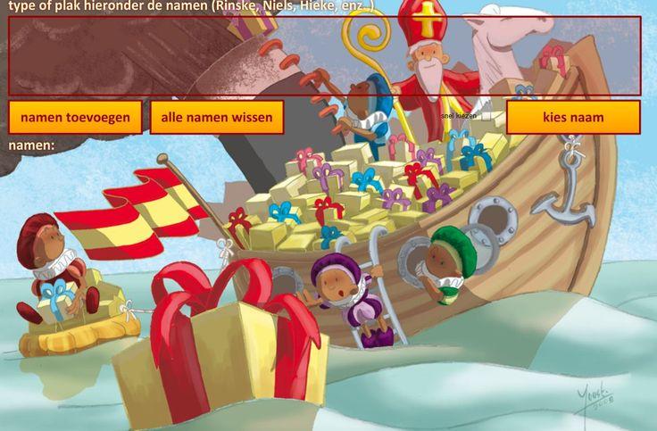 Hééééel veel ideetjes voor de Sinterklaasviering op kinderpleinen! www.kinderpleinen.nl
