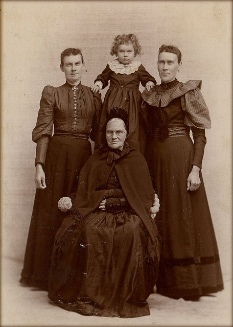 1890s. The Angry Family.