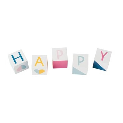 Wooden Blocks: Happy | Coming Soon | Shop | kikki.K Stationery & Gifts