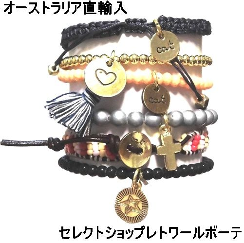 キャットハミル CAT HAMMILL ブレスレット セット Tessa Leather Bracelet set gold mult ウィメンズ ブレスレッド ブレスレットセット ハートブレスレット 誕生日プレゼント 女性 20代 30代 アクセサリー ポーチ セット 可愛い 海外 ブランド