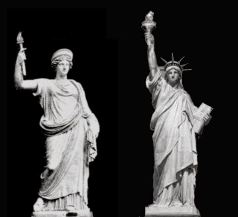 The Secret Worship of the Illuminati: The Statue of Liberty is Anunnaki Goddess Inanna | Humans Are Free