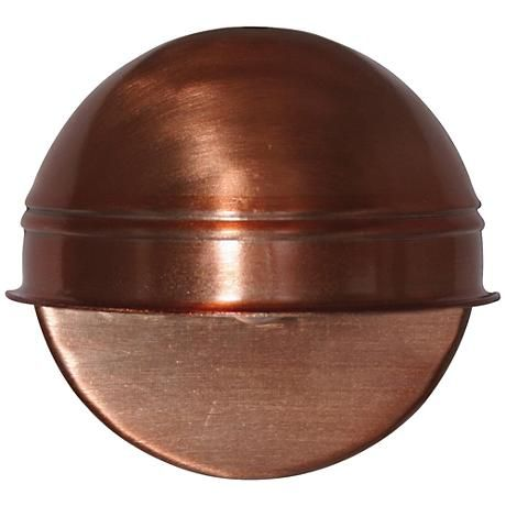 A Warm And Inviting Copper Finish Lends Distinction To This Contemporary  Low Voltage Deck Light.