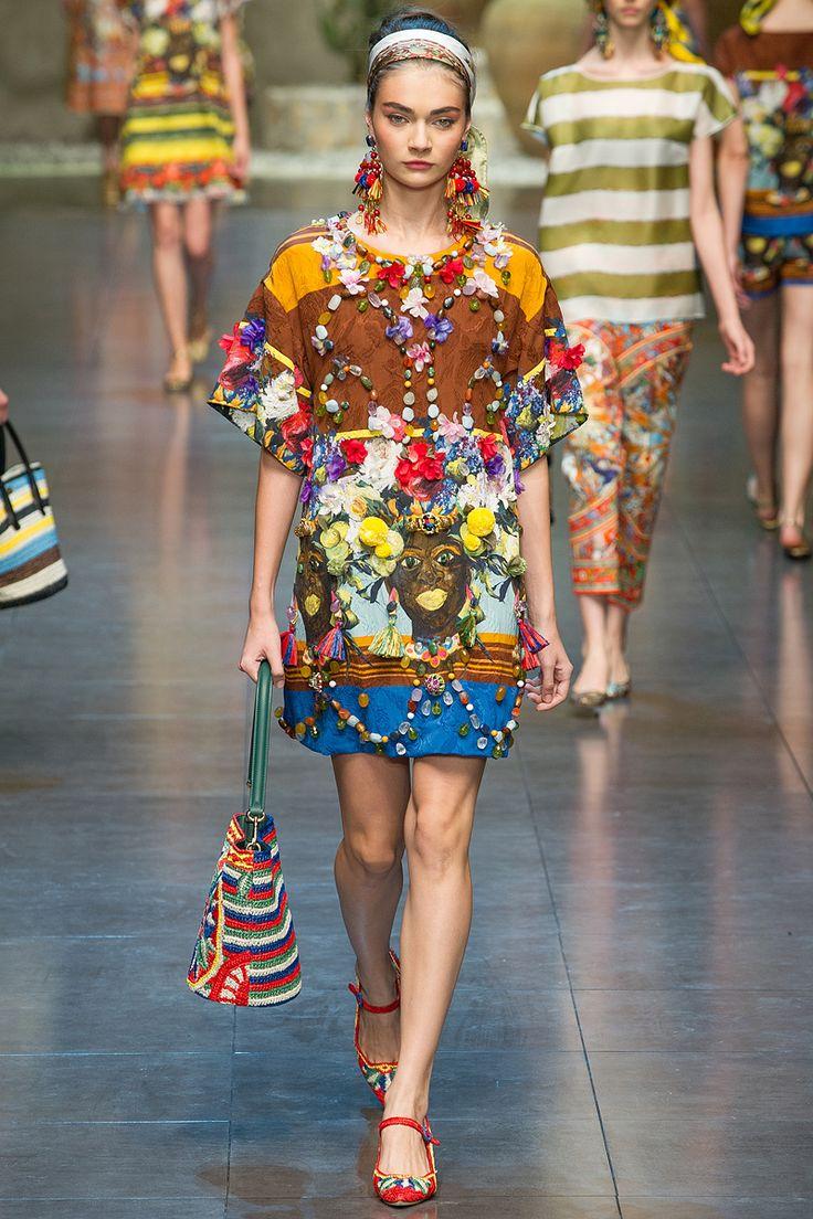 Dolce & Gabbana SS13: Gabbana Ss13, 2013 Readytowear, Dolce Gabbana, Spring Summ, Milan Fashion Week, Gabbana Spring, Dolce & Gabbana, Spring 2013, 2013 Collection