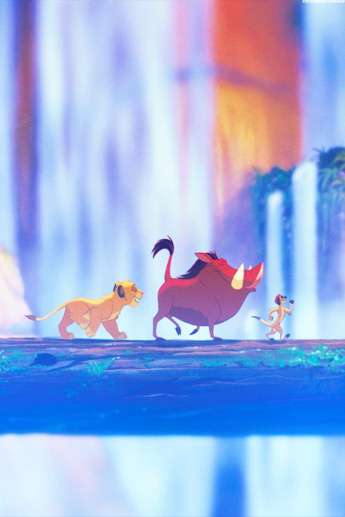 It means no worries for the rest of your days. #DisneyLove #TheLionKing #SlimyYetSatisfying