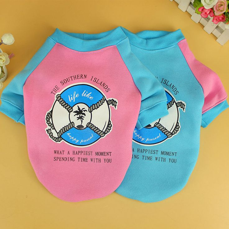 Printed Grasping Cotton Dog Sweater Autumn Warm England Style Cartoon Letters Pet Shirt Puppy Cat Jacket Costume Teddy Chihuahua
