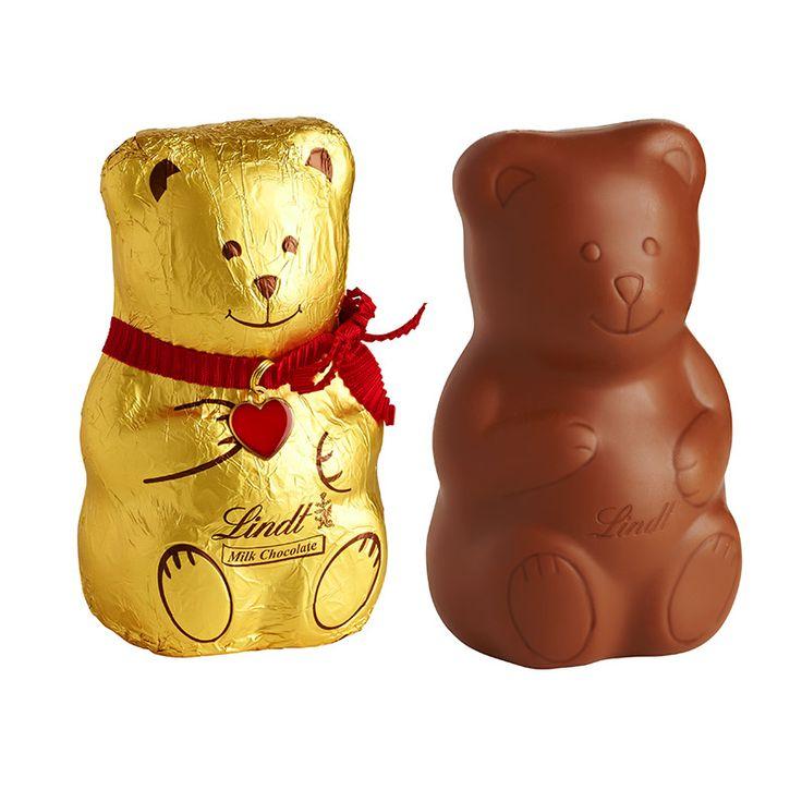 Herkesin Sevgilisi Teddy Bear Lindt Çikolata. Şekercity Size Lindt çikolatanın tablet çikolata ve yaldızlı çikolata çeşitlerini sunuyor.