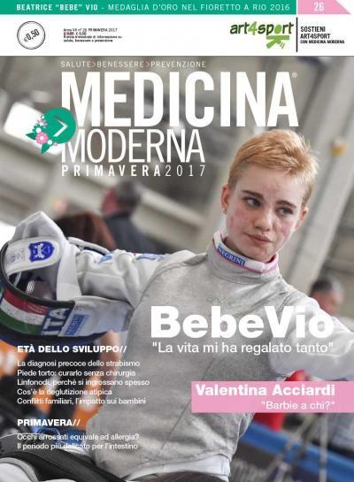 Intervista a Beatrice Bebe Vio - Medaglia d'oro nel fioretto a Rio 2016.  Scarica la tua copia gratuita: https://www.medicinamoderna.tv/r/26/medicina-moderna-n-26-marzo-2017.html