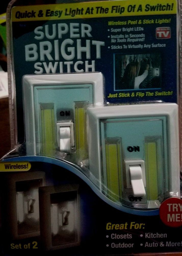SUPER BRIGHT LED LIGHT SWITCH