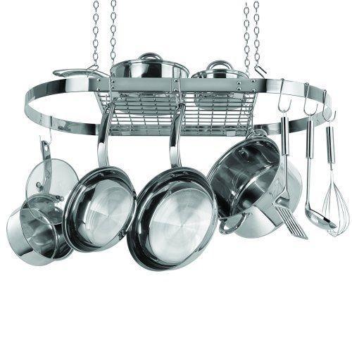1000 Ideas About Hanging Pots Kitchen On Pinterest