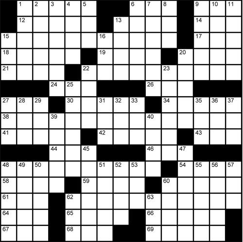 17 best Crossword Puzzles images on Pinterest | Crossword, Crossword ...