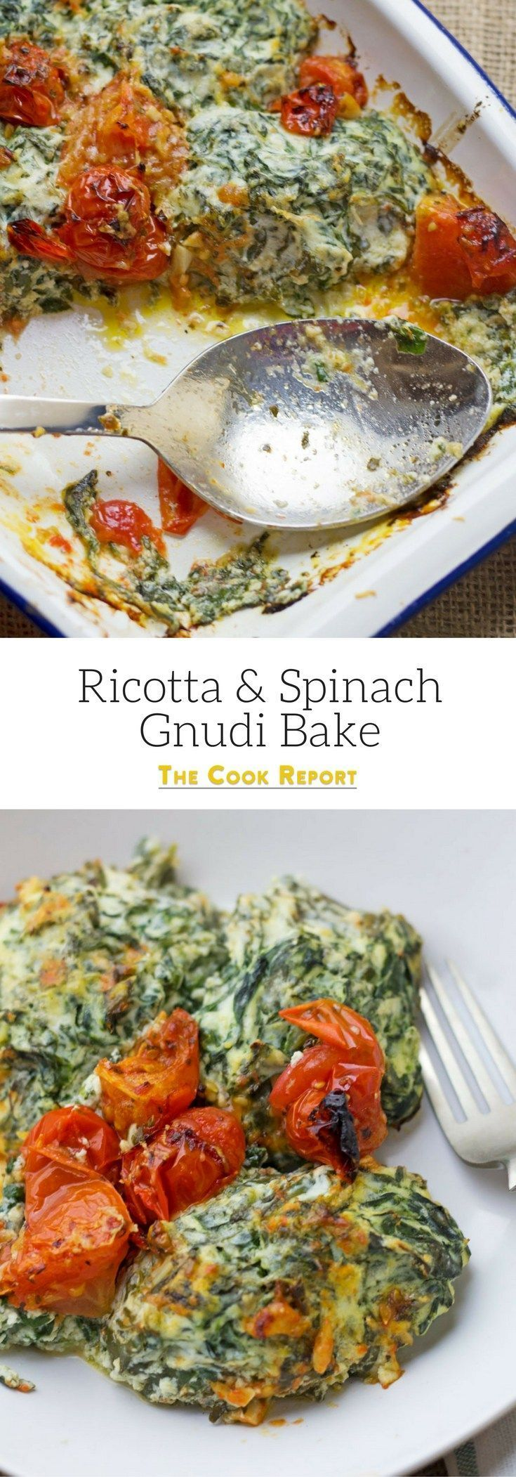 Gnudi are like the inside of spinach and ricotta ravioli. They're quick, easy and healthy. This dish tastes amazing served with a simple garlic bread.