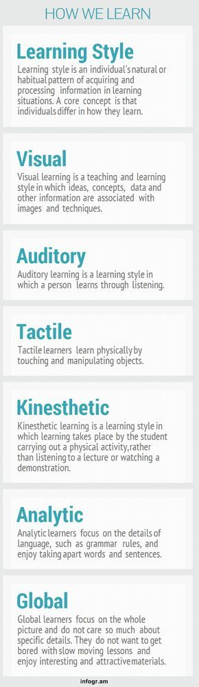 the best kinesthetic learning style ideas  visual learning style essay new interesting visual on learning styles and study tips
