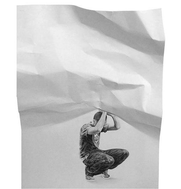 Interactive paper drawings #art