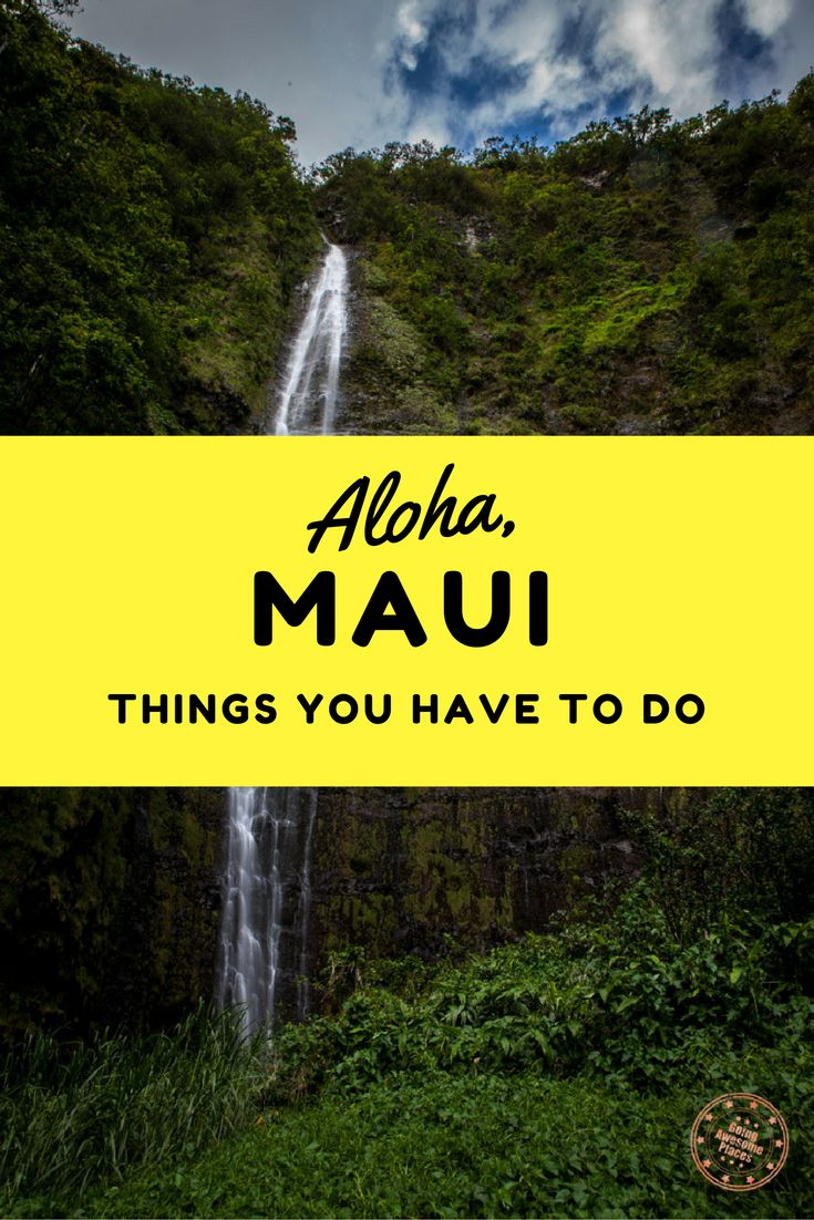 Are you looking for last minute things to do in Maui? Here's a list of amazing activities, restaurants and sights that you have to consider.