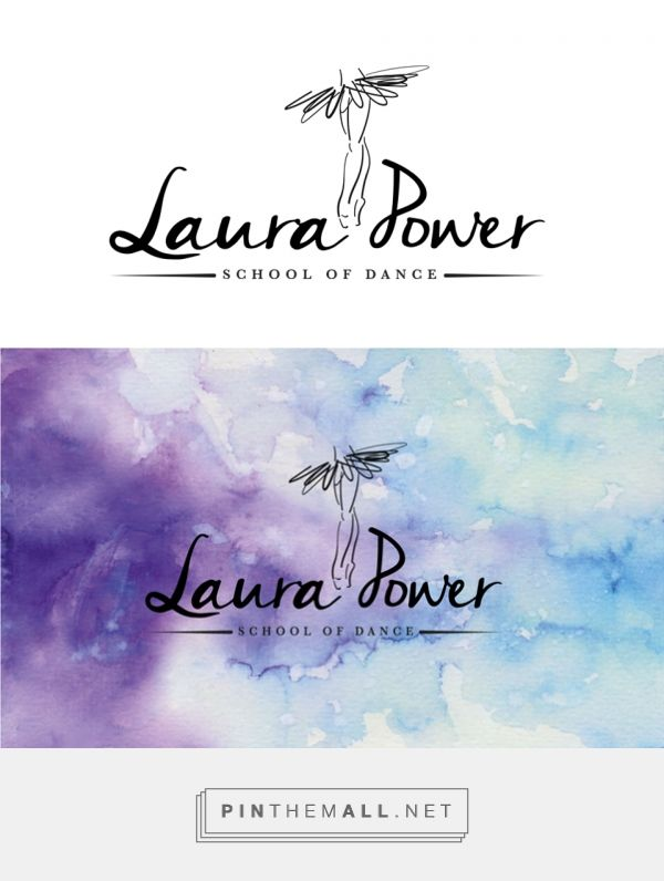 efz Creative Design | Laura Power School of Dance logo design - created via https://pinthemall.net