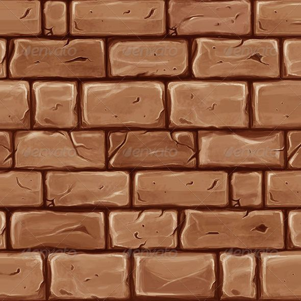 Printable Cartoon Brick Walls