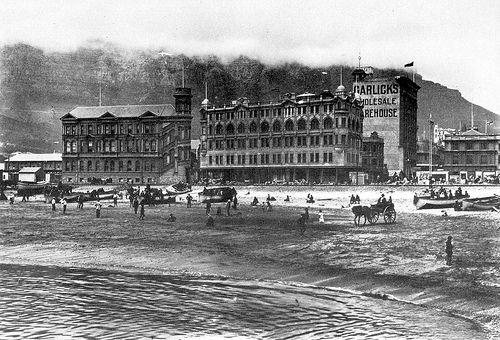 Roggebaai Beach early 1900s