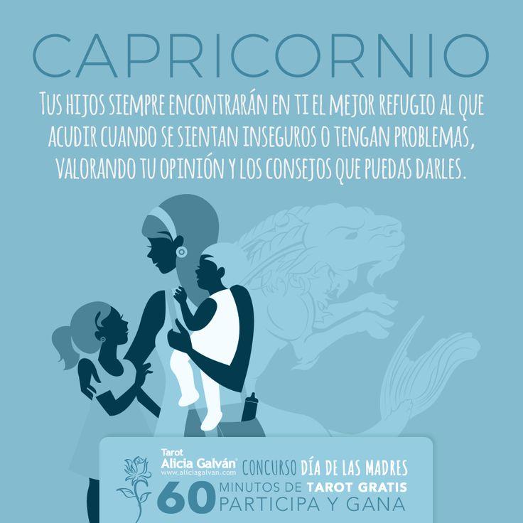 #Capricornio ♑ participa en nuestro Concurso #DíadelasMadres si deseas ganar una consulta de #Tarot #Gratis. Entra aqui para registrarte cuanto antes.