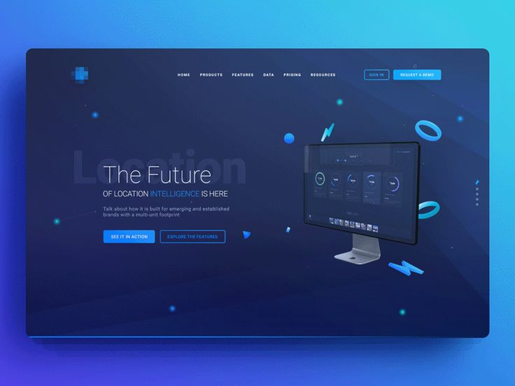 promo page by uixNinja - Dribbble