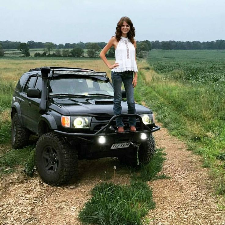 A truly proud owner is a beautiful thing. @_kaylaalexx is our official #wcw, go check out her page!  #toyota #toyotalife #toyotausa #yota #yotalife #girlsandcars #girlowned #trucks #toyotanation #drivingpretty #girls #truckgirls #nature #liftedtrucks #amazing #truckporn #dope #gorgeous #womancrush #yotagals #4runner #toyota4runner #beast #lifted #beautiful #animallover #life