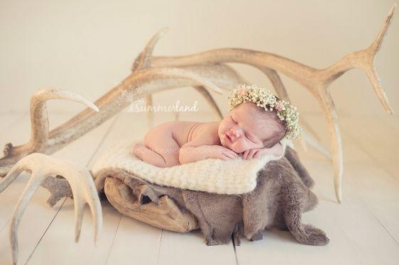 Nine Day Old Baby V : Kennewick West Richland Newborn Photography » Summerland Photography