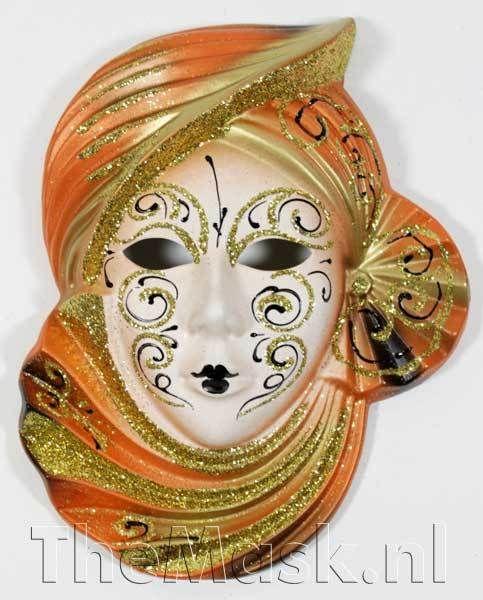 Venetiaanse Italiaanse Masker - Keramisch decoratie masker