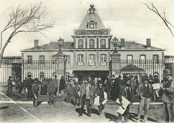 Estación de Ferrocarriles de Concepción.