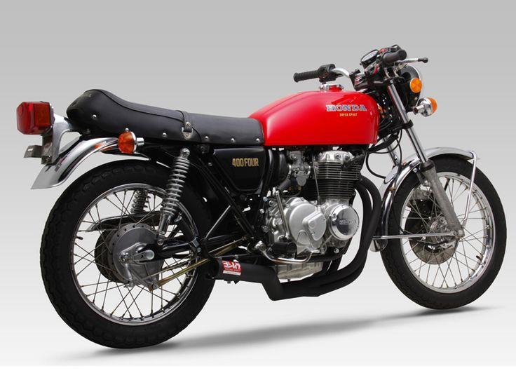 CB400FOUR(74-77 / 76-77) レーシング手曲ストレートサイクロン/商品詳細 ヨシムラオンラインショップ